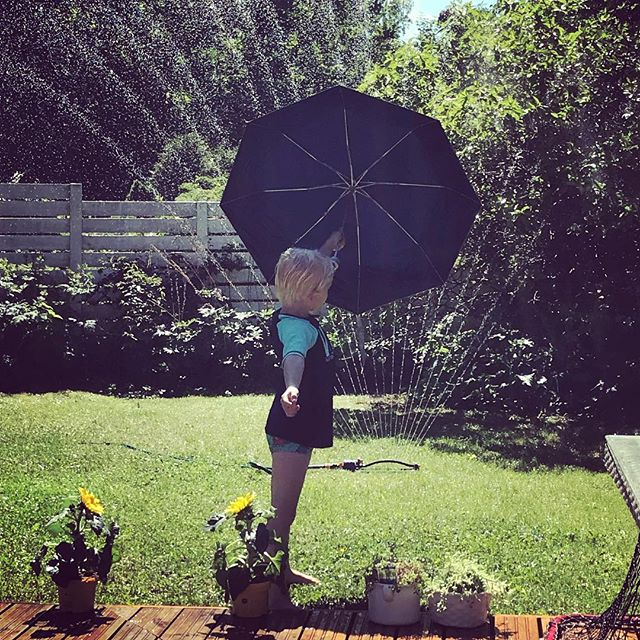 It's raining in paradise. Meneehän se näinkin 🕶️️ #sun #son #rain #paradise #suomenkesä #paistaapaistaa #nautitaankesästä