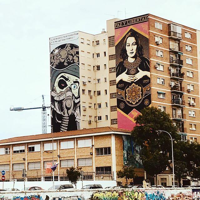 Ison maailman meininki! #malaga #streetart #mph #malminpalloiluhalli