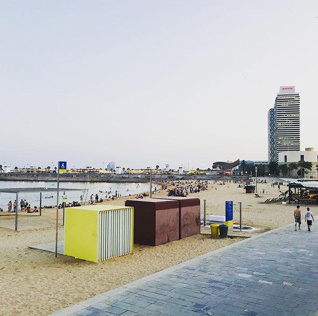 Halli lomailee, elokuussa jatketaan!#kesä #barceloneta #beach #barcelona #summer #loma