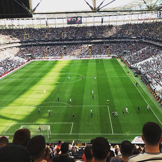 @vodafonearena @besiktas . Olipa peli ja olipa stadion. Olipa tunnelma ja olipa fanit. Upea tapahtuma. #besiktasjk #football #istanbul #besiktas